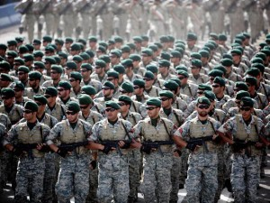 Iranian troops training for war against the west, against ISIL, against Israel, against America, ultimately if the Kurds push the issue Iran will use their forces to rape, murder and flatten the Kurds they way they are planning to do the Sunni Mulims in Iraq right now.