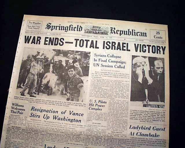 Image result for examiner six day war