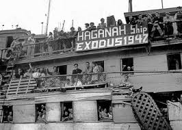 The Ship Exodus, caused world wide attention to the Jewish problem in Palestine. The fact that it was loaded with European Jews liberated from Nazi Germany carried heavy in the hearts of free people everywhere. The Haganna and the Jewish agency made the most of this and eventually won as the British acquiesced and allowed the ship to come to Palestine.